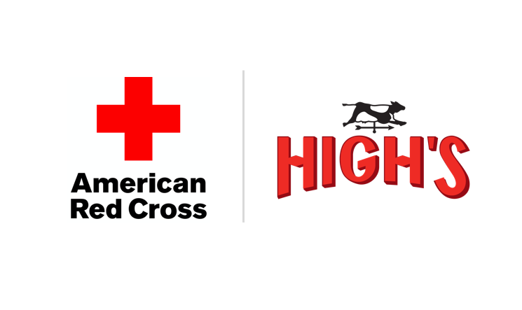 High's Donates $11,000 to the American Red Cross